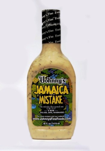 Johnny'S Jamaica Mistake Dressing, 48Oz Bottle