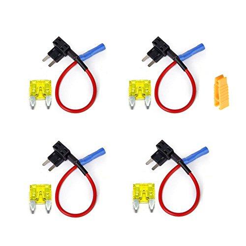 inibud-4-x-universal-add-a-circuit-car-mini-blade-fuse-holder-adapter-aps-att-piggy-back-tap
