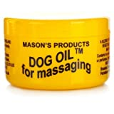 3 x Mason's Dog Oil Balm ** FREE U.K POST** MASON S DOG OIL FOR MASSAGING MASON DOG OIL FOR PAIN RELIEF HERBAL REMEDY MINERAL OIL BALM BALASM