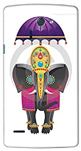 Timpax protective Armor Hard Bumper Back Case Cover. Multicolor printed on 3 Dimensional case with latest & finest graphic design art. Compatible with LG G4 ( H815 ) Design No : TDZ-26936