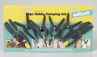 Wolfcraft 6 Pc. Hobby Clamping Set (3454)