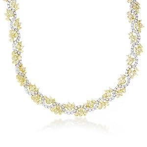 Diamond & 18k White Gold Necklace