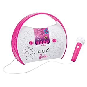 Barbie Voice Changing Rockstar Boombox