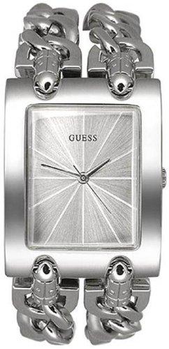 GUESS Women's Stainless Steel Chain Bracelet Watch - S