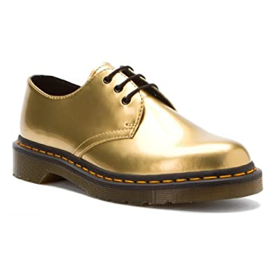 Dr martens 1461 pw gold womens shoes size 5 uk for Amazon dr martens