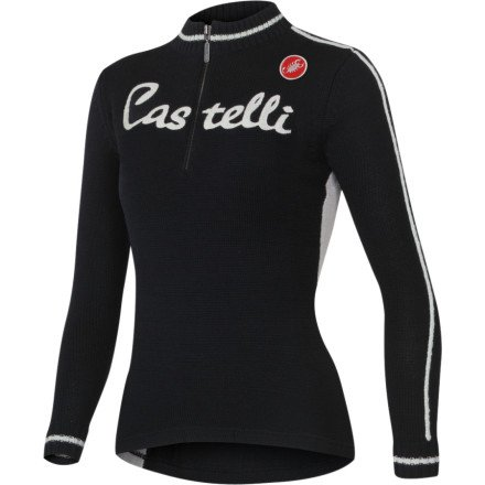 Buy Low Price Castelli Opera Wool Long Sleeve Women's Jersey (B004AOYHZG)