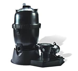 High Efficiency Above Ground Pool Pump & Filter System