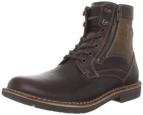 Clarks Men's Medway Track Lace-Up Boot,Brown,7 M US
