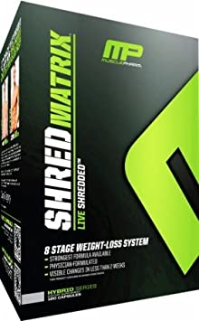 Muscle Pharm Shred Matrix 120 Capsule