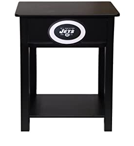 NFL End Table NFL Team: New York Jets by Fan Creations