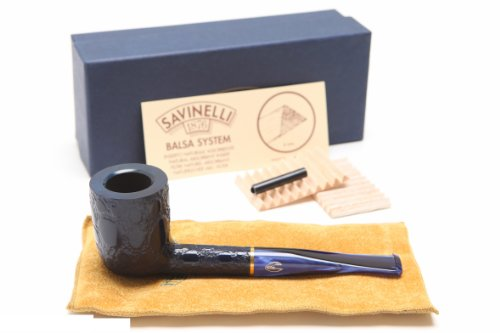 Savinelli Alligator Blue 412B Tobacco Pipe