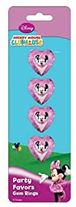 Amscan Disney Minnie Mouse Gem Ring, Pink