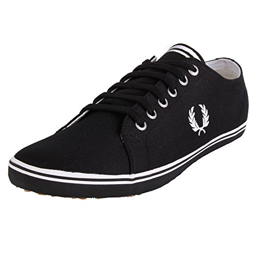 Fred-Perry-Kingston-Twill-Black