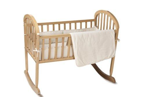 Imagen de American Baby Cotton Compañía Orgánica 3-piezas Porta-Crib Set, Natural
