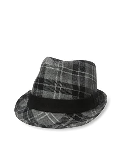 Block Men's Plaid Fedora