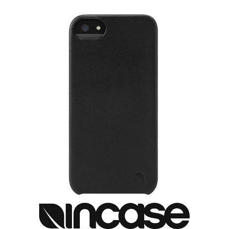 incase Leather Snap Case for iPhone 5 Black ES89052 レザースナップケース ブラック アイフォン5