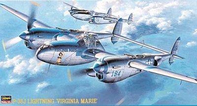 1/48P-38J ライトニング バージニアマリー