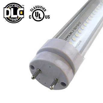 paclights tube40 t8 48 39 39 4ft led tube light bulb 18 watt cool white. Black Bedroom Furniture Sets. Home Design Ideas
