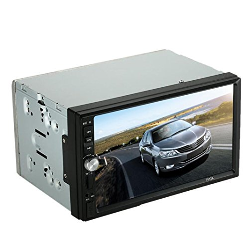 Black Friday ODGear Double 2 Din Car Stereo MP5 MP3 Player Radio Bluetooth USB AUX + Parking Camera (Car Audio Dvd compare prices)