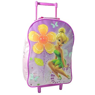 DISNEY FAIRIES TINKERBELL GIRL TRAVEL CABIN WHEELED BAG TROLLEY SUITCASE LUGGAGE