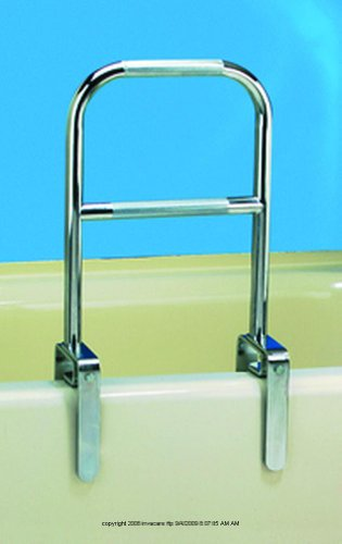 Dual Level Bathtub Rail, Bathtub Rail Dual Level, (1 CASE, 6 EACH)