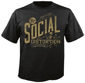 SOCIAL DISTORTION - Premium Grade - T-Shirt Größe XXL