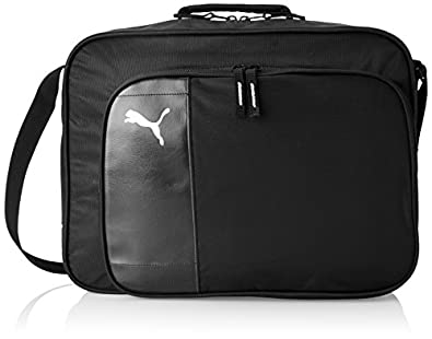 Puma Unisex-Adult Team Messenger Bag 064594-01 Black/White