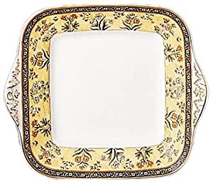 Amazon.com: Wedgwood India Square Cake Plate: Kitchen & Dining
