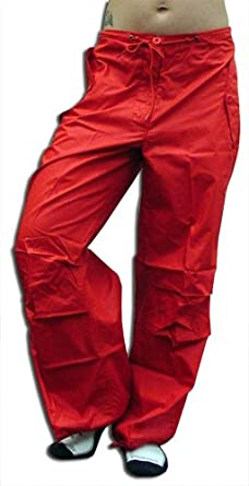 UFO Girly Snow Pants (Red) (Medium (30-32 inches))