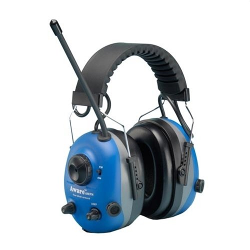 Elvex Aware Noise Filtering Am Fm Radio Earmuffs Com680