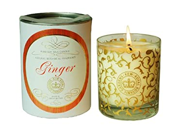 Kew Gardens Scented Candleginger by Canova Gifts