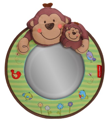 Lowest Price! Fisher-Price Luv U Zoo Baby View Mirror
