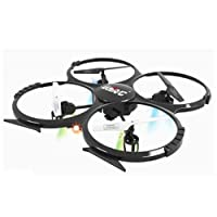UDI U818A 2.4GHz 4 CH 6 Axis Gyro RC Quadcopter with Camera RTF Mode 2 by Bellet