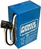 POWER WHEELS BY FISHER PRICE 6 VOLT BLUE BATTERY