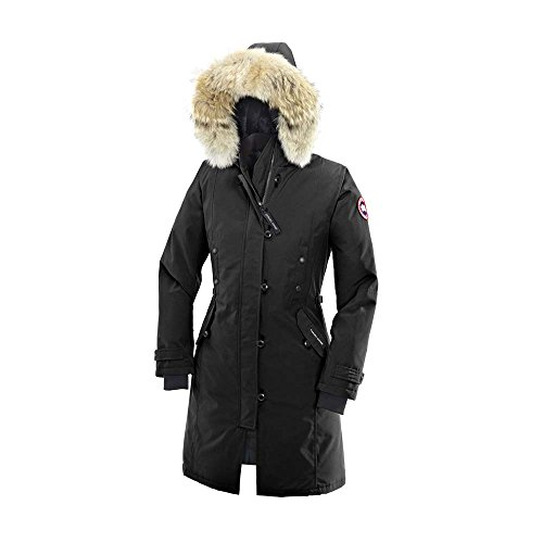 Canada Goose Women's Kensington Parka,Black,Medium (Coats Canada Goose Women compare prices)
