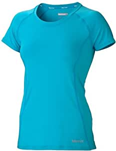 Marmot Damen T-Shirt Crissy Short Sleeve, blue pool, S, 66770-2449-3
