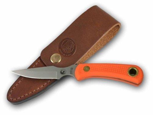 Knives of Alaska Cub Bear Suregrip Handle Caping Knife, Orange