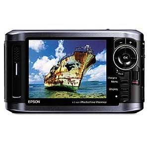 Epson B31B191002 - Multimedia Photo Viewer P-6000, 80 GB Hard Drive, Black