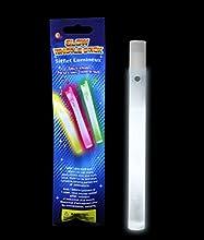 Glow Whistles 6 inch - White