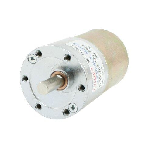 Dfgb37Rg-96I Cylinder Shape Dc 12V Speed 50 Rpm Geared Motor