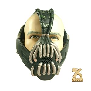 Bane Mask Bronze Version for Halloween Mask Cosplay Props