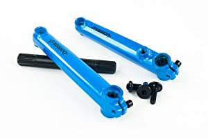 Mission Components Transit Crank, Blue, 175mm by Mission Components