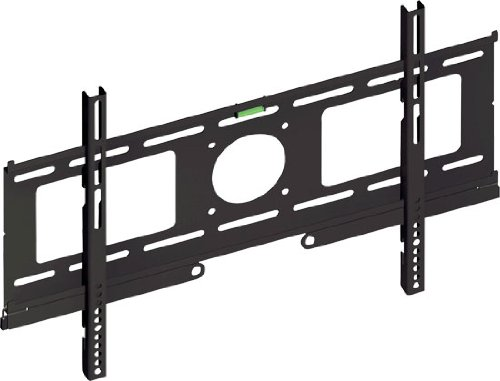Pyle Home Psw701F Fixed Wall Mount For 23 To 50 Inches Displays With Built-In Level (Black)