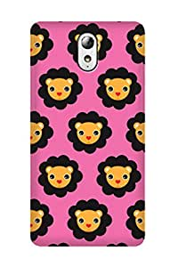 ZAPCASE PRINTED BACK COVER FOR lenovo vibe p1M- Multicolor