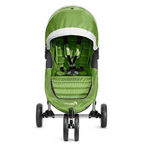 Baby Jogger City Mini Stroller In Lime, Gray Frame, BJ11440
