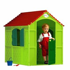 Maisonnette plastique jardin sur enperdresonlapin - Maisonnette plastique enfant ...