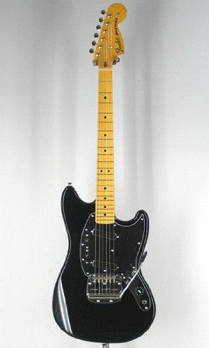 Fender Japan Mg77 Blk Mustang Electric Guitar (Japan Import)