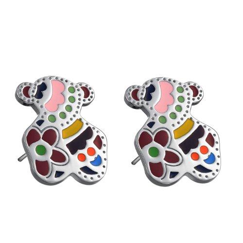 bigsoho-titanium-316l-stainless-steel-coloful-bear-stud-women-earrings