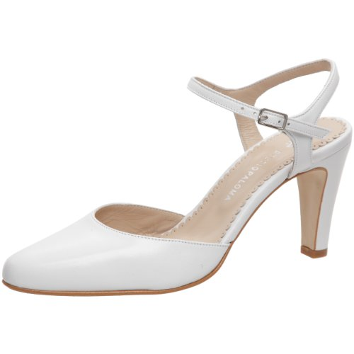 Studio Paloma Women's Paula Suprema Pump White UK 5