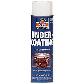 Permatex 80072 Undercoating, 16 oz. net Aerosol Can